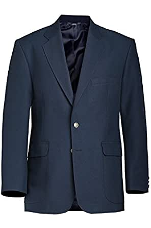 Ed Garments Men's Value Poly Blazer Dark Navy - 56