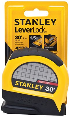 - Stanley Hand Tools STHT30830 30' LeverLock� Tape Rule