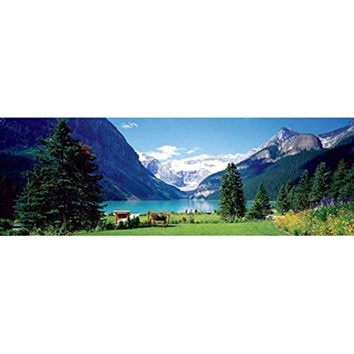 Lake Louise Outlet - EuroGraphics Lake Louise Canadian Rockies 750 Piece Puzzle
