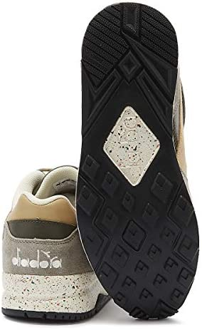 Diadora Eclipse Premium Mens Lace Grey Trainers-UK 6 / EU 39