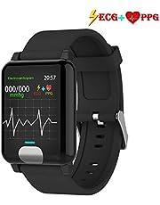 armo Fitness Armband ECG+PPG mit Pulsmesser Wasserdicht IP67 Fitness Tracker Aktivitätstracker Pulsuhren Smartwatch