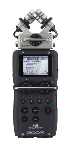 Zoom H5 Four-Track Portable Recorder (Best Portable Field Recorder)
