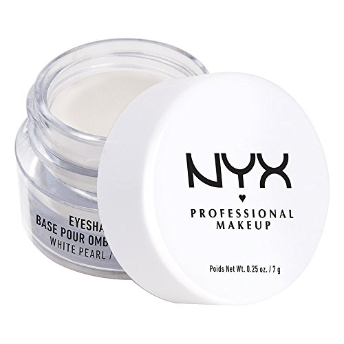NYX Professional Makeup Eyeshadow Base, White Pearl, 0.25 Ounce