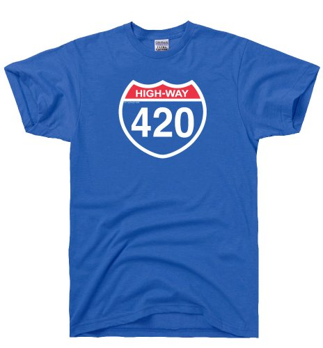 DirtyRagz-Mens-Highway-420-Four-Twenty-Weed-T-Shirt