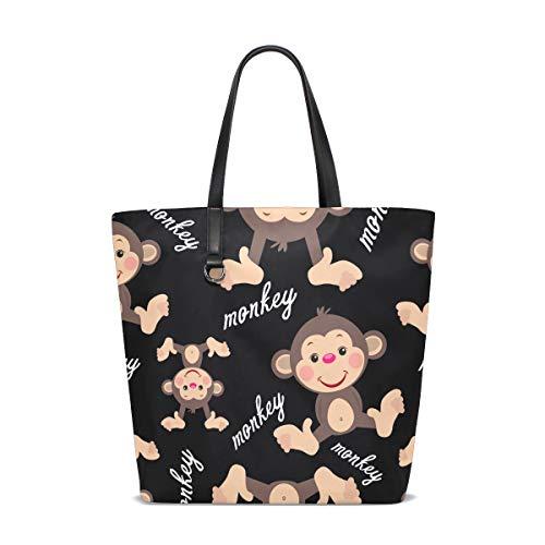 Monkey Cheeky Femme Bennigiry 001 Porter Pour Sac Tote Taille À L'épaule Unique KxOzHO8qwC