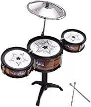 Mini Bateria - Jazz Drum Brinquedo Musical - Rock Guitar
