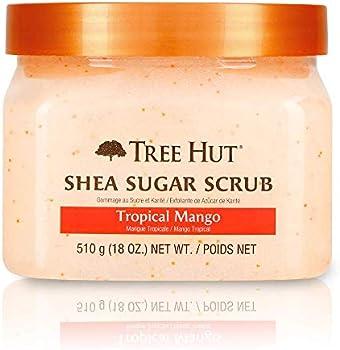 Tree Hut Shea Sugar Tropical Mango Hydrating & Exfoliating Scrub 18 Oz