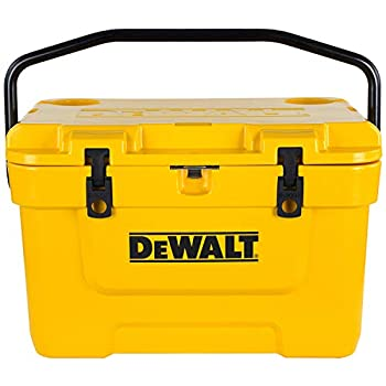 DeWalt 25 Qt Roto Molded Cooler , Yellow
