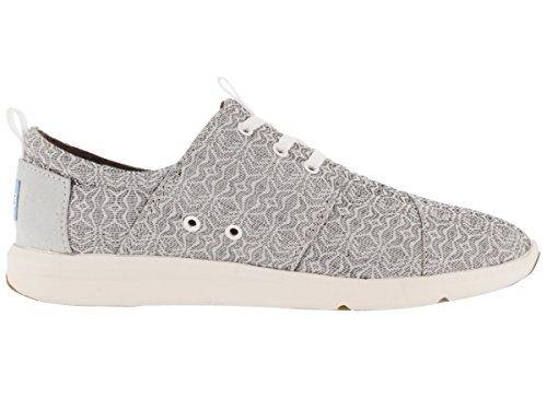 Toms Womens Del Rey Sneaker Grigio Tribale