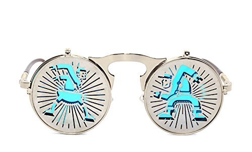 Personality Steam Punks Clamshell Trendsetter Sunglassess - - London Dior Store