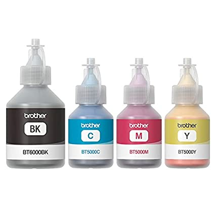 Brother BT5000 BT6000Bk Ink Bottles Colour For T300T500T700WT800W Printers