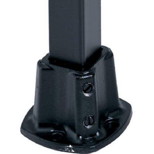 Porch Post Base (GILPIN IRONWORKS 579 1-1/4BLK Floor PostFlange)