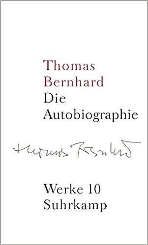 Werke 10 autobiographie amazon thomas bernhard martin werke 10 autobiographie amazon thomas bernhard martin huber manfred mittermayer 9783518415108 books fandeluxe Gallery