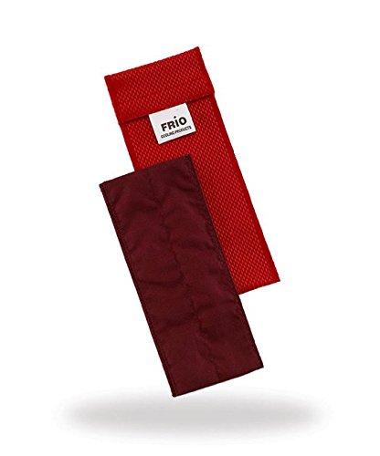 Frio - Bolsa isotérmica para mantener insulina, color rojo, 6.5 x 18 cm