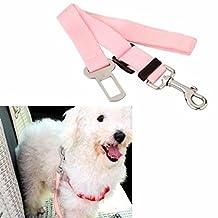 EWIN(R) 1PCS Belt Adjustable Universal Dog Leash Auto Car Automobile Seatbelt Adapter Extender adjustable safety seat belt restraint for travel with your dog pet 4 Colors