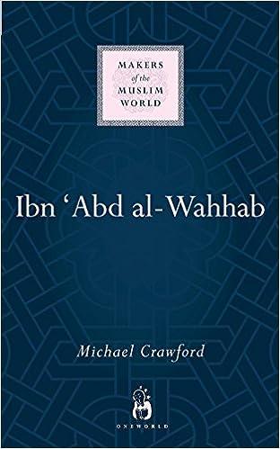 Muhammad Ibn Abd Al Wahhab The Man And His Works By Abd Allah Al Ali Uthaymin