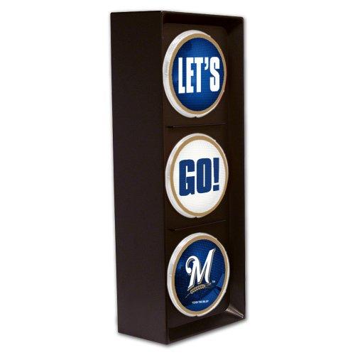 Milwaukee Brewers Mlb Furniture (MLB Milwaukee Brewers Let's Go Light)