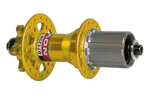 Novatec Hr-nabe D712sb 32 L. Elox. MTB Superlight Scheibenbremse, Gold, Einheitsgröße