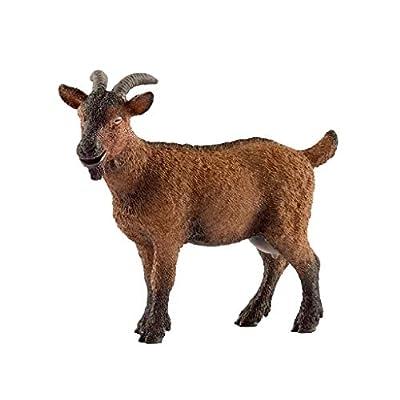 SCHLEICH Farm World Goat Educational Figurine for Kids Ages 3-8: Schleich: Toys & Games