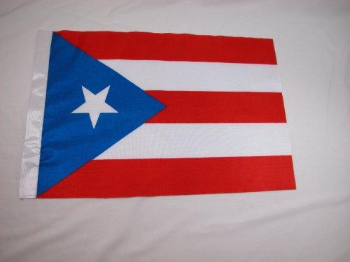 Puerto Rico Bandera Bandera de para ventanillas de coche Campeonato Mundial de copa W/Stand