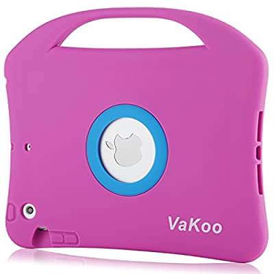 VAKOO iPad Mini Soft Portable Light Weight Kids Proof Shockproof Drop Proof Case With Handle for iPad Mini 3, iPad Mini Retina Display and iPad Mini from Vakoo