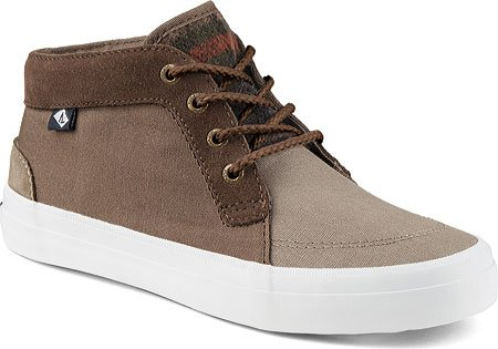 Sperry Top-sider Donna Crest Knoll Suede Sneaker Taupe (8.5)