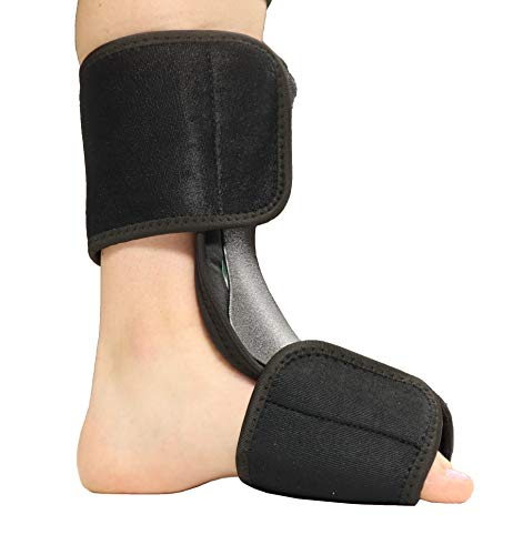 (Soft Dorsal Night Splint - Breathable Design for Effective Relief from Plantar Fasciitis Pain, Heel, Arch Foot Pain, and Achilles Tendonitis - L/XL)