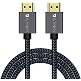 HDMI Cable 4K 10ft, iVANKY 18Gbps High Speed HDMI 2.0 Cable, 4K HDR, HDCP 2.2/1.4, 3D, 2160P, 1080P, Ethernet - Braided HDMI Cord 32AWG, Audio Return(ARC) Compatible UHD TV, Blu-ray, PS4/3, Monitor