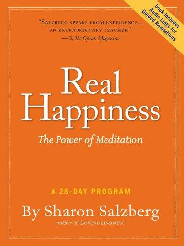 Real Happiness Meditation Sharon Salzberg ebook product image