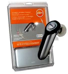 Handspring TREO 650 680 700 700p 700w 700wx 750 755 Bluetooth Wireless Headset with DSP technology in PalmOne retail