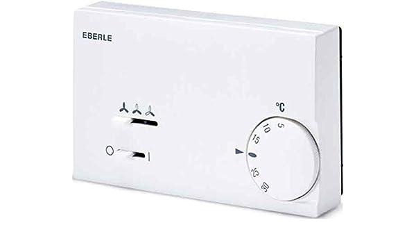 Kieback&peter eberle - Termostato bimetálico klr-e7011 5a30c para fan-coil: Amazon.es: Bricolaje y herramientas