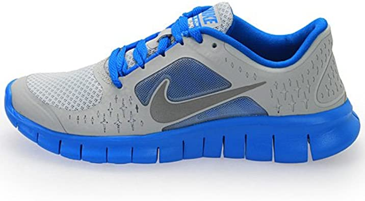 Nike Junior Free Run + V3 Zapatillas de Running, Gris: Amazon.es ...