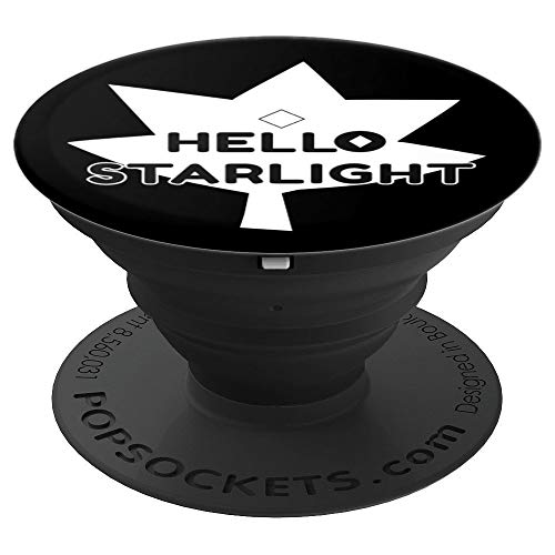 Hello Starlight - Scary Halloween Universe White Gem - PopSockets Grip and Stand for Phones and Tablets -