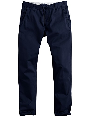 Match Men's Slim Fit Straight Leg Casual Pants (36, 8036 Blue)