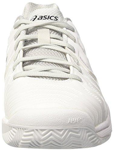 Para white Gel resolution Clay Hombre Blanco Tenis De 7 Zapatillas silver Asics A0qwvq