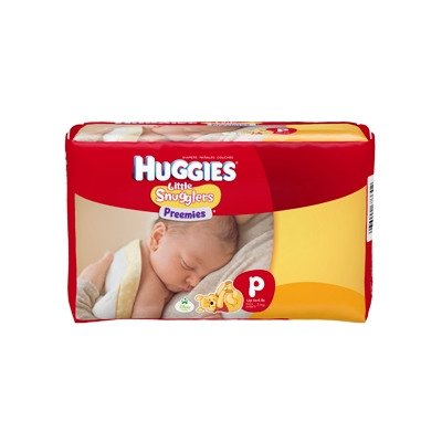 Kimb Clark 67333100 Baby Diaper Huggies Resealable Tabs Preemie Disposable Maximum Absorbency 67330 Box Of 180 by Kimberly-Clark