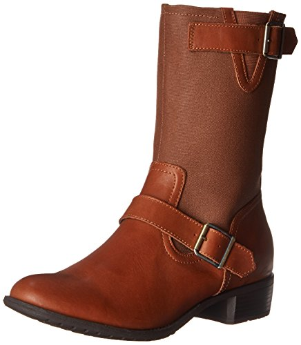 Hush PuppiesLola Chamber - Botas mujer Beige - Tan WP Leather/Canvas