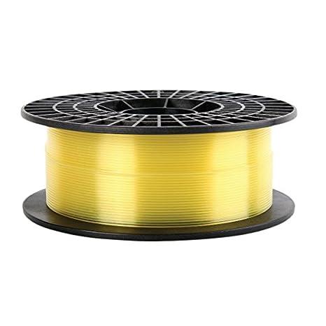 FILAMENTO PLA IMPRESORA 3D-GOLD TRANSLUCIDO AMARILLO 1.75MM 0.5KG ...