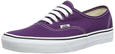 Vans Authentic Plum Purple/True White Men's 4.5/ Women's 6