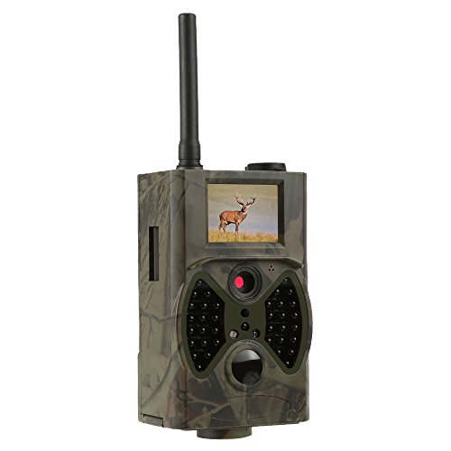 Digital Surveillance Package - Docooler Trail Camera GPRS/MMS/SMS Function Digital Infrared Water Proof Scouting Surveillance Hunting Camera 940NM IR LED HC300M