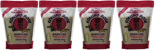 KOKUHO RICE SUSHI Hnjmey, 4 Pack (5 lbs) by KOKUHO RICE SUSHI Hnjmey