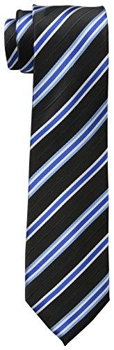 Dockers Big Boys' Stripe Necktie, Black, One Size