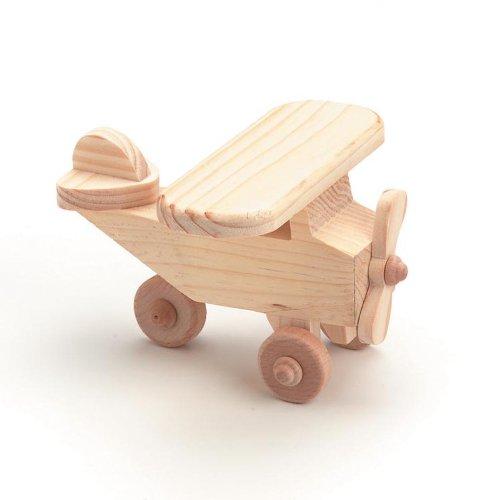 Darice 9163-46 Wood Airplane -