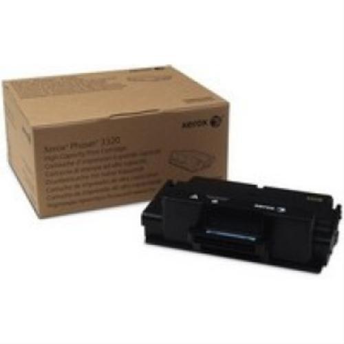 Xerox 106R02307 Black High Capacity Toner for Phaser 3320, Black, Office Central