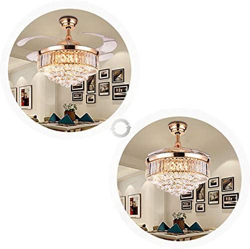 42 inch Crystal Ceiling Fan Light