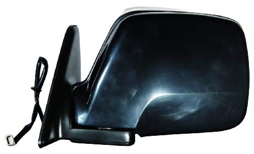 Depo 312-5407L3EB Black Driver Side Power Non-Heated Mirror