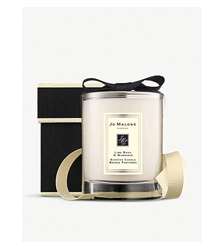 Jo Malone London Lime Basil and Mandarin Travel Candle 2.1 Ounce/60 Grams (Unboxed)