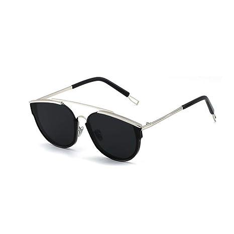 YIWU Gafas de Sol Mujer Hipster Retro Caja Grande Cara Larga ...