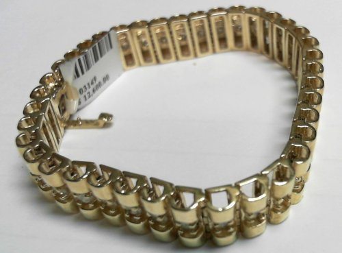 Luxury bracelet gold chains