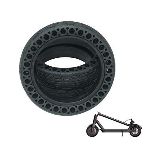 ELEC TECH Electric Scooter Solid Rubber Millet M365 8.5 Inch Inflatable Electric Scooter Accessories Inflatable Honeycomb Solid Tire Padding Pattern